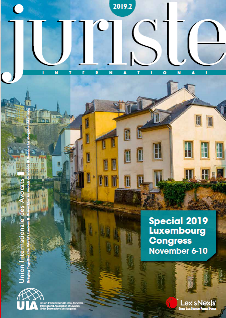Juriste International 2019-3 Cover